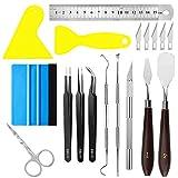 X SIM FITNESSX DIY Bastelwerkzeug Set, 13 Stück Vinyl Jäten Werkzeuge Edelstahl Plotter Zubehör...