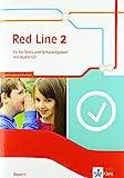 Red Line 2. Ausgabe Bayern: Fit für Tests und Schulaufgaben mit Audio-CD Klasse 6 (Red Line....