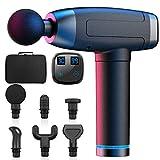 WELTEAYO Massagepistole für Nacken Schulter Rücken Massage Gun Massagegerät Elektrisch Entspannen...