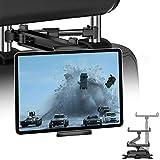JPARR Tablet Halterung KFZ, Universelle Ausziehbare Auto Kopfstützen Halterung, 360° Drehung...