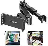 Tablet Halterung Auto, Verstellbar Tablet Halter Kopfstütze ,Ausziehbare Kopfstützenhalterung für...