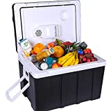 ZRZJBX 50L Cool Box for Keeping Warm or Cool Thermo-Electric Cool Box 12Volt and 220Volt, Mini...