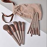 MAZS 13 Stück Schnelltrocknende Make-up-Pinsel-Sets Soft Blush Lose Puderpinsel Markieren Sie...