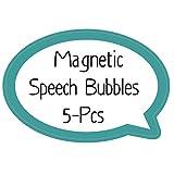 Magnetische Etiketten, trocken abwischbar, geometrische Formen As shown Blasenform