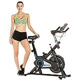 ANCHEER Profi Spinning-Heimtrainer mit APP, Leichtgängig Leise Fitnessbike Indoor Cycling Bike,...