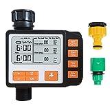 ZALA Bewässerungsuhr Batterie Garden Bewässerungscomputer IP65 Automatisch Wasser Timer Easy...