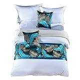 ESORST Bed Flag Bett Schwanz Pad Bettdecke Bett Dekorative, Bett Flag Bett Schwanz Schal (Color : A,...