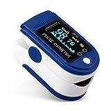 Comely Pulsoximeter Oximeter Fingerpulsoximeter zur Messung der Sauerstoffsättigung, Spo2, PI und...