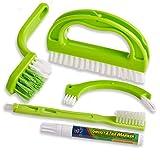 Foresight Fugenbürste für Bad, Küche und Haushalt-Reinigt effektiv Fugenfliesen und entfernt...