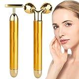Anti Aging Antifalten Gesichtsmassagegerät, Beheizte Massagegerät Augenmassagegerät, Anionen...