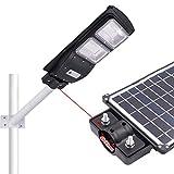 duquanxinquan Straßenlampe Solarbetriebene Solar 60W/90W LED Bewegungsmelder Light Wasserdicht mit...