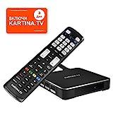 Kartina X - IPTV Receiver für Kartina.TV - Russisches Fernsehen - 4k Ultra HD 1080p 4Kp603D HEVC...