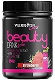Beauty Drink für Sie - Kollagen-Drink mit Hyaluronsäure und Stevia - Erdbeere 350g
