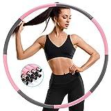 SAWAKE Hula Reifen Fitness Erwachsene Hoop zur Gewichtsreduktion aus Edelstahl, Hula Reifen,Hoop 1,2...