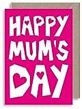 Geburtstagskarte zum Muttertag – Bright Mums 's Day – Alternative Muttertagskarte – Happy Mums...