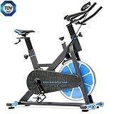 FitBike Indoor Cycle Race Magnetic Home - 20 kg Schwungrad - Poly V-Riemen und Magnetisches...