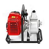 RainWeel Benzin Wasserpumpe 43CC 2-Takt Motorpumpe Gartenpumpe 1,25 kW 6500 U/min für Bewässerung,...