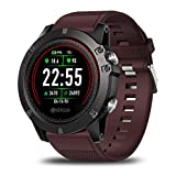 MOLINB Intelligente Uhr EKG-Smartwatch Herren Instant-EKG-Farbdisplay Herzfrequenz IP67 wasserdichte...