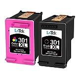 LxTek Remanufactured für HP 301 301XL Druckerpatronen für HP DeskJet 1000 1010 1050 2050 2050A...