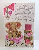 Jonny Javelin Special Great Granddaughter Taufkarte – Mädchen Elefant Teddy