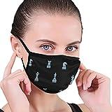 Schach Unisex Männer Frauen Radfahren Sport Anti-Staub-Baumwolle Mund Gesichtsmaske Respirator