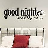 ZGNY Wand Vinyl Abnehmbare Kreative Warm Smile Honey Prince Wandaufkleber Kunst Wandaufkleber
