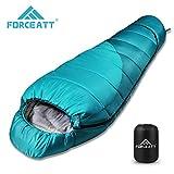 Forceatt Mumien Schlafsack,Allgemeine Temperatur ist -10 -15,3-4 Jahreszeiten,schlafscke ist...