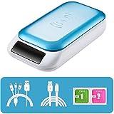 BHDYHM UV-Handy Sanitizer, bewegliches UV-Licht Smart-Phone-Sterilisator, Aromatherapie-Funktion...
