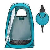 Yuanj Camping Duschzelt, Pop Up Toilettenzelt Wasserdicht Umkleidezelt, Outdoor Privat Mobile WC...