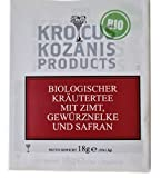 Tee KROCUS KOZANIS 18g Kräutertee (Zimt, Gewürznelke und Safran)