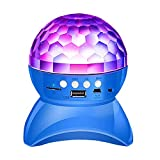 Bunte Neon Stage Light Lautsprecher 360 rotierenden Crystal Magic Ball Wireless Mini-Karte Audio...