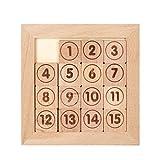 TOYANDONA 1 Box Montessori Mathematik Puzzle Spielzeug Holzzahlen IQ Nummer Holz Zahlen...