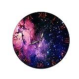 LUOYLYM Sternenhimmel Kreative Heimat Wanduhr Acryl Wanddekoration Uhr Stummschaltung Spiegel Uhr...