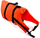 wellenshop Lalizas Hunde-Schwimmweste Gewicht 40+ kg Brustumfang 46-82 cm Polyethylen Nylon Orange...