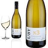 6er Karton 2019 Colombard - Ugni blanc N 3 Ctes de Cascogne Domaine d'Uby - Weiwein