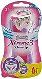 Wilkinson Sword Xtreme 3 Beauty Einwegrasierer Damen, 6 St