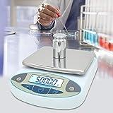 Laboranalytische Waage, 3000g 0,01 g Hochpräzises, Schnelles und Genaues Ablesen Digitale...