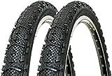 P4B | 2X 26 Zoll ATB Fahrradreifen | All - Terrain - Bike-Tires | 26 x 1.95 | 50-559 | Fahrrad...