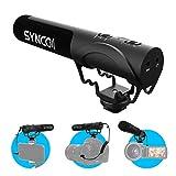 SYNCO Kamera Mikrofon, Richtmikrofon DSLR Shotgun Video Externes Microphone Kondensator...
