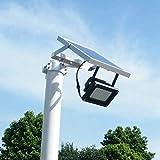54 LEDs Flutlicht Solarbetriebene Sensorlampe Wasserdichtes IP65...