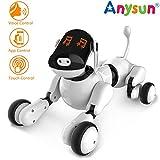 Intelligentes Roboter Hundespielzeug, Interaktives Programmierbares Wiederaufladbares Roboter Welpen...