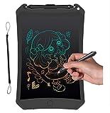 Emwel Maltafel - Maltafel Zaubertafel Writing Tablet LCD Writing Tablet Kinder Malen Bunte LCD...