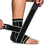 Sprunggelenk Bandage Set, Bandage Fußgelenk zur Schmerzlinderung, Achillessehne Bandage bei...