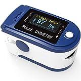 Pulsoximeter PO-200 Solo von Pulox in dunkelblau für die Messung des Puls und der...