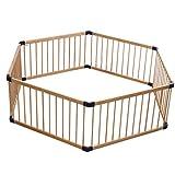 MKJYDM Baby-Laufstall Kids Activity Center-Sicherheitsgarderobe for den Innenbereich (DREI Größen...