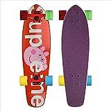 Skateboard 27 Zoll Skate Board 7 Ply Maple Für Anfänger Erwachsene Jungen Extreme Sports Komplette...