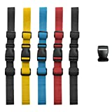 Meilo Rucksack-Riemen, Rucksack Chest Strap, Heavy Duty Adjustable Backpack Chest Strap, for...