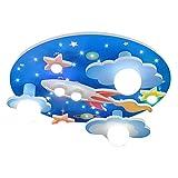 COCOL Kinderzimmer Deckenleuchte universum Sterne Kinderzimmer Deckenleuchte mit weißem LED-Licht...