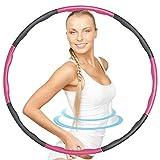 Y.A. LOTUS Einstellbar Hula Hoop, Fitness Reifen Abschnitten Sport Hoola Hoops Reifen...