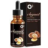O³ Arganöl Haaröl // 100% Natürlich und Vegan // Feuchtigkeitspflege für Gesicht, Haut, Haar...
